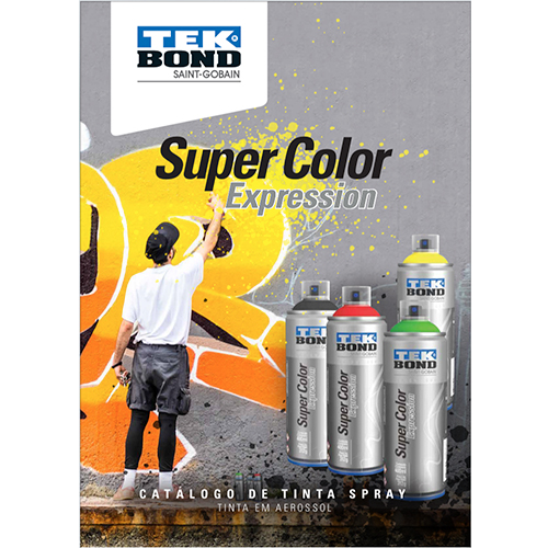 <span>Catalogo de cores Super Color Expression</span>